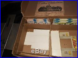 Marx Tom Corbett Space Academy Play Set With Box 1950s VERY NICE n CLEAN