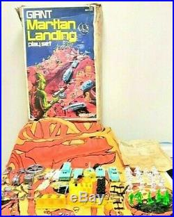 Marx Toy Co. Giant Martian Landing Play Set Vintage Rare 1977 Alien Space Toy