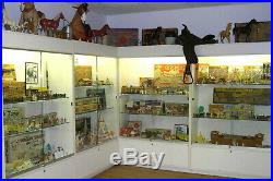 Marx Toy Museum Display Cabinets