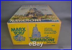 Marx Toy Navarone Playset MINT/Factory Sealed
