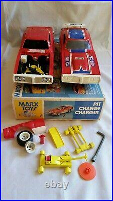 Marx Toys 1974 Pit Change Charger