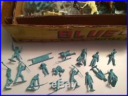 Marx Toys Giant Battle of the Blue and Gray Playset Civil War Centennial Poses