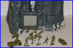 Marx Toys Navarone The Mountain Battleground Playset