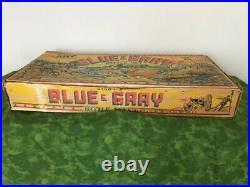 Marx Toys Original Battle of The Blue & Gray Box Record Instructions