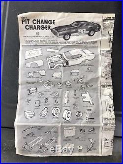 Marx Toys Pit Change Charger Vintage 1974 No. 5175
