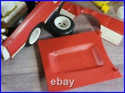 Marx Toys Pit Change Dodge Charger 112 Scale 1974 Plastic Model Kit Car 5175