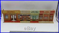 Marx Toys THE UNTOUCHABLES 1961 Mobster Al Capone Desilu Playset Game READ