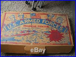 Marx U. S. Armed Forces Training Center #3990 Extra Large Set No Reserve