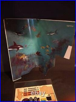 Marx Undersea Playset 1979 Rare Set Not Complete With Original Box