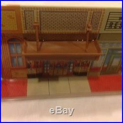Marx Untouchables City Litho Building Tin Metal Vintage Playset Original 1961
