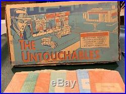 Marx Untouchables Play Set Box #4676