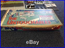 Marx Untouchables Playset- Boxed, Great Condition, and with Two Bonus Gifts