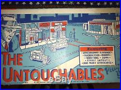 Marx Untouchables Playset. COMPLETE