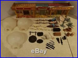 Marx Vintage 1959 Alaska Play Set WithBox A Classic & Rarest Of Collectible Sets