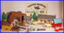 Marx Vintage Johnny Ringo Western Frontier Play Set