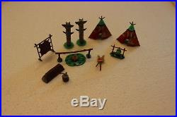 Marx Vintage Miniature Play Set, Custer's Last Stand, in excellent condition