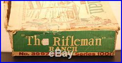 Marx Vintage The Rifleman Ranch Set