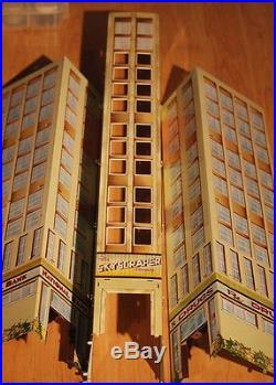 Marx Vintage The Skyscraper Building with Electric Elevator