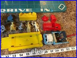 Marx Vintage Tin Toys Sky-View Service Center Parking Garage with Accessories