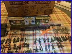 Marx Vintage US ARMY COMBAT TRAINING CENTER POST EXCHANGE PLAYSET, #4131
