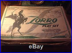 Marx Vintage Zorro playset