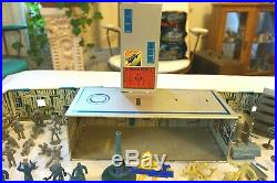 Marx Vtg Official Tom Corbett Space Academy Playset Nice Played With Condition