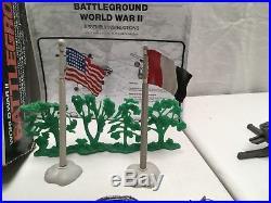 Marx WWII Battleground Set 4204 With Box