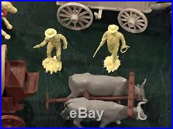 Marx Wagon Train Partial Play Set