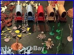 Marx Wagon Train Play Set Box#4788
