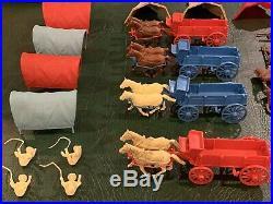 Marx Wagon Train Play Set Series 2000 Box#4777