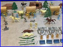 Marx Wagon Train Play Set Series 2000 Box#4788