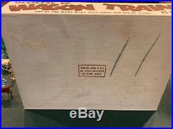 Marx Wagon Train Set Series 2000 Box #4777