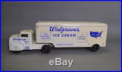 Marx Walgreen's Ice Cream Tractor Trailer Truck