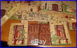Marx Walt Disney Official Davy Crockett at the Alamo Play set #3540 without Box