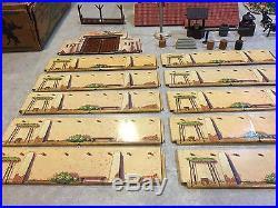 Marx Walt Disney's Zorro Play Set Box#3753 Series 500