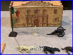 Marx Walt Disneys Davy Crockett At The Alamo Play Set Box#3530
