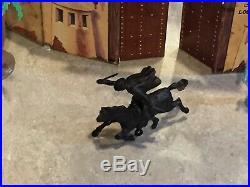 Marx Walt Disneys Zorro Play Set Series 500 Box#3753