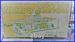Marx Wards Service Station No. 3473 Station Never Assembled Pristine NOS