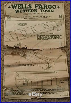 Marx Wells Fargo Electric Train Set 54752 with Box