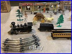 Marx Wells Fargo Electric Train Set Box#54762