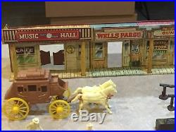 Marx Wells Fargo Play Set