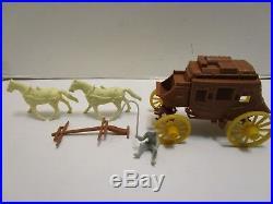 Marx Wells Fargo Playset Stagecoach