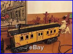 Marx Wells Fargo Train Set with Partial Play Set Box#54752