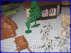 Marx Western Mining Town (nice set all original)