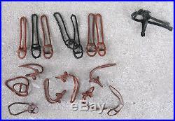 Marx Western Playset Saddles and Reins