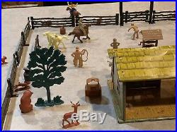 Marx Western Ranch Set With Box