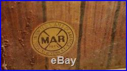 Marx Western Town Hotel Side Silver City Metal Litho Circa 1950s