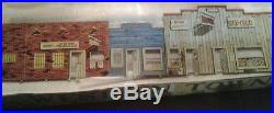 Marx Western Town Jail Side with box Dodge City Roy Rogers tin litho