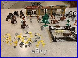 Marx Western Town Play Set Box#2652