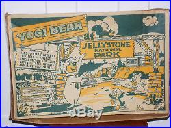 Marx Yogi Bear at Jellystone National Park Play Set in Box